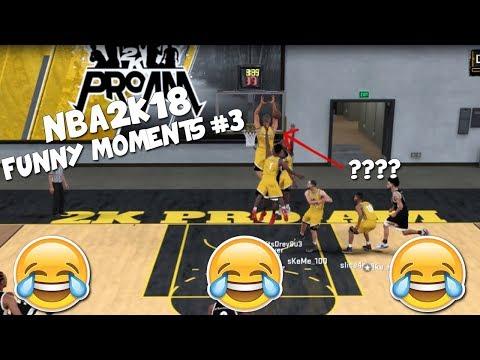 NBA 2K18 Park & Pro AM - Funny Moments! #3