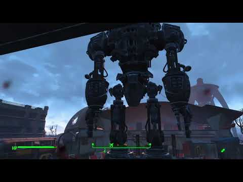 Fallout 4 , Boston Air port ring of death