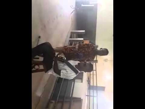 Mr Matinson Ministering at Labone Senior High School in Accra Ghana