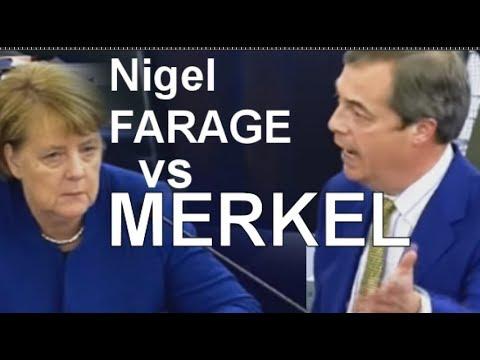 Zeit sich zu entschuldigen Frau Merkel! Farage - seine vermutlich letzter großer Auftritt