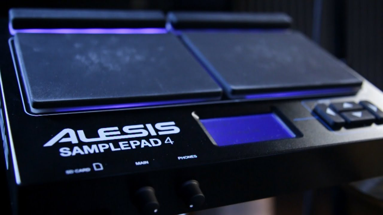 Alesis SamplePad 4 - YouTube