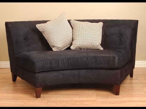 Superbe Curved Loveseat