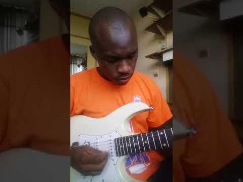Mbongeni ngema stimela sase Zola lead guitar cover