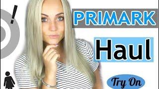 PRIMARK HAUL - Try On | Blond_Beautyy