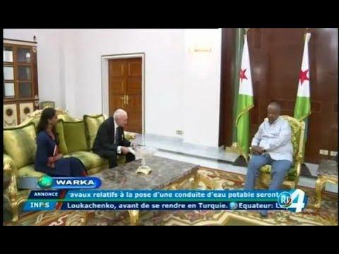 Télé Djibouti Chaine Youtube : JTSomali du 03/10/2017