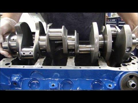 Engine Building Part 3 Installing Crankshafts