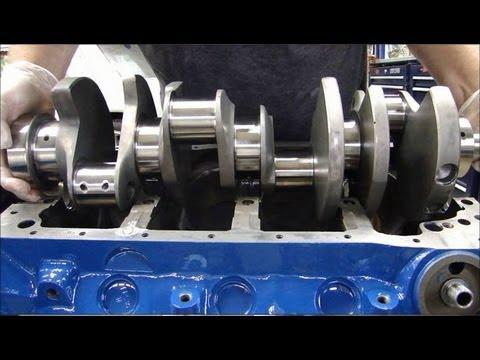 Engine Building Part 3: Installing Crankshafts