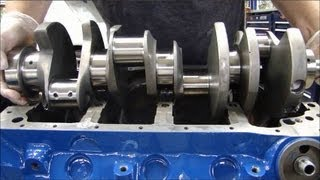 Engine Building Part 3: Installing Crankshafts