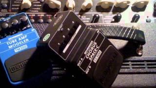 Behringer CC300 Space-C Analog Chorus Guitar Pedal Demo