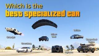 GTA V Online Which is Best Specialized car | Deluxo, Vigilante, Scramjet, Ruiner, Stromburg, etc