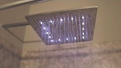 16' LED Rainfall Showerhead (Must See)