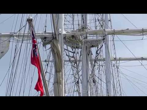Lord Nelson Tall Ship Visits Halifax Nova Scotia