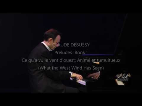 ILYA ITIN PLAYS DEBUSSY PRELUDES BOOK ONE