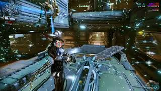 Warframe -Helene Operator Solo Endless Defense (Operator Gameplay)