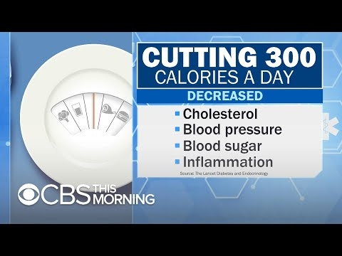Cutting just 300 calories per day could make you a lot healthier