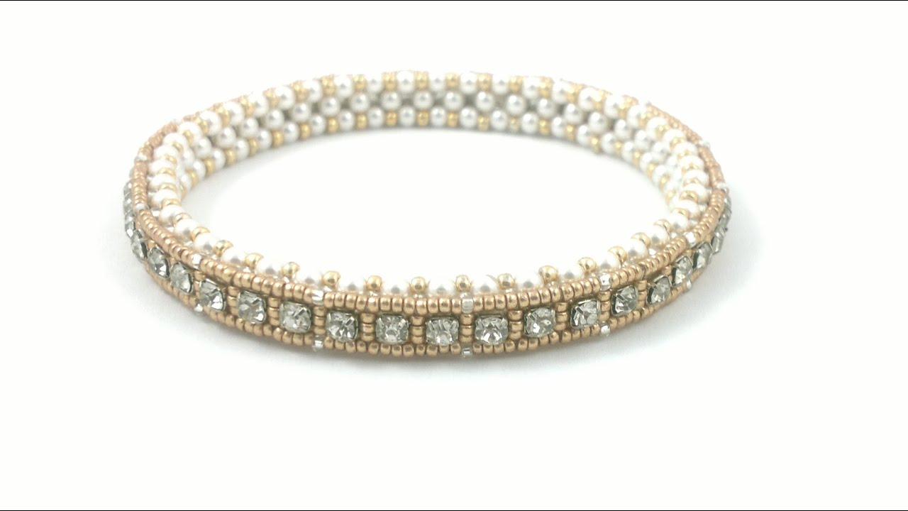 Beading4perfectionists 1920 S Art Deco Style Tennis Bracelet Cupchain In A Craw