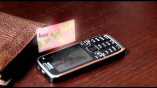 Nokia E52 HOLOGRAM PROJECTION!!!