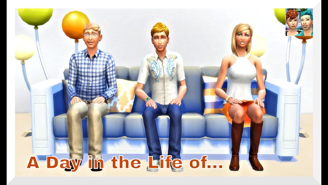 SIMS 4 VIDEO | A DAY IN THE LIFE OF | THE LANDGRAAB FAMILY