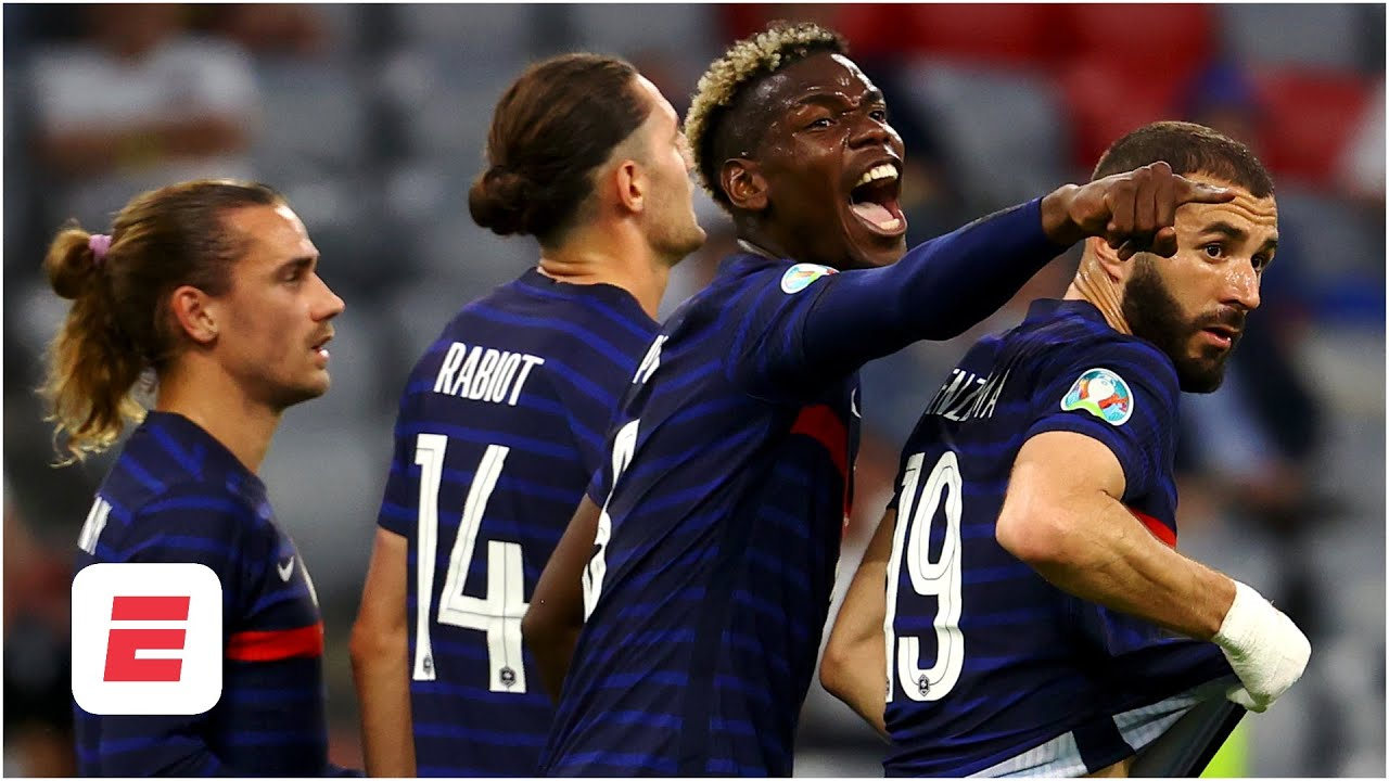 'Pogba's teammates are DIFFERENT CLASS to Man Utd's squad!' Reaction to France vs. Germany | ESPN FC