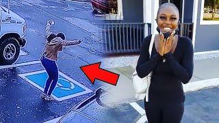 Бездомная девушка была настолько рада, что станцевала прямо на улице.  Что же с ней произошло?