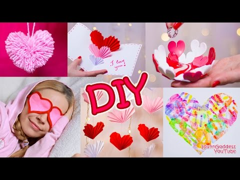 Download Youtube: 5 DIY Valentine's Day Gifts and Room Decor Ideas