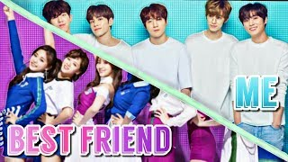 My Best Friend VS. Me II K Pop Preferences