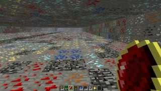 Minecraft - Mystcraft Dense Ore Mining Fun