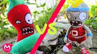 Plants vs Zombies Plush Toys: Jalapeno vs Zombie | MOO Toy Story