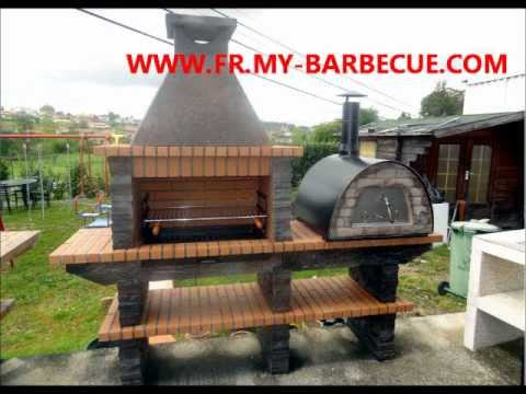 barbecue en pierre avec four pizza barbecue en pierre avec. Black Bedroom Furniture Sets. Home Design Ideas