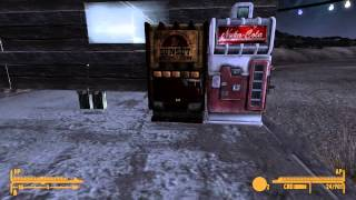 Fallout New Vegas - Base building showcase - 4 times speed