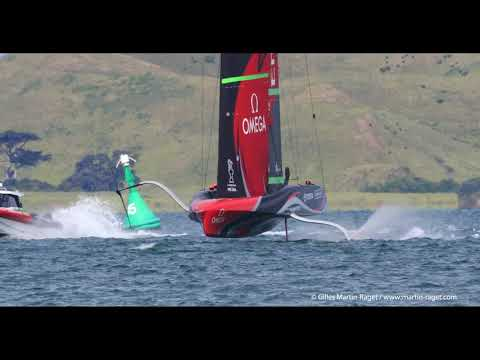 36th America's Cup - Auckland (NZL) - ETNZ and Ineos Team UK light wind training - 2020/11/23