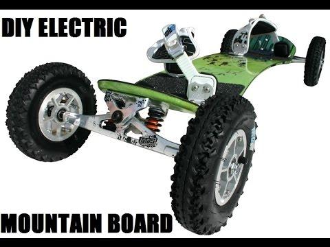 DIY 650W Electric Mountain Board