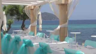 Hochzeit auf Mallorca in Beach Club- Mallorca Princess Wedding Planner