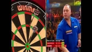 A weird leg of darts. Gary Anderson vs Albertino Essers