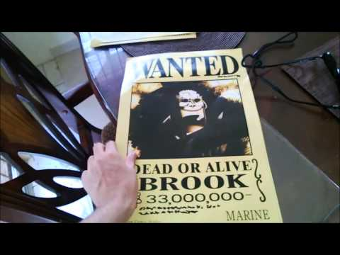 One Piece: Wanted Posters Unboxing/Opening
