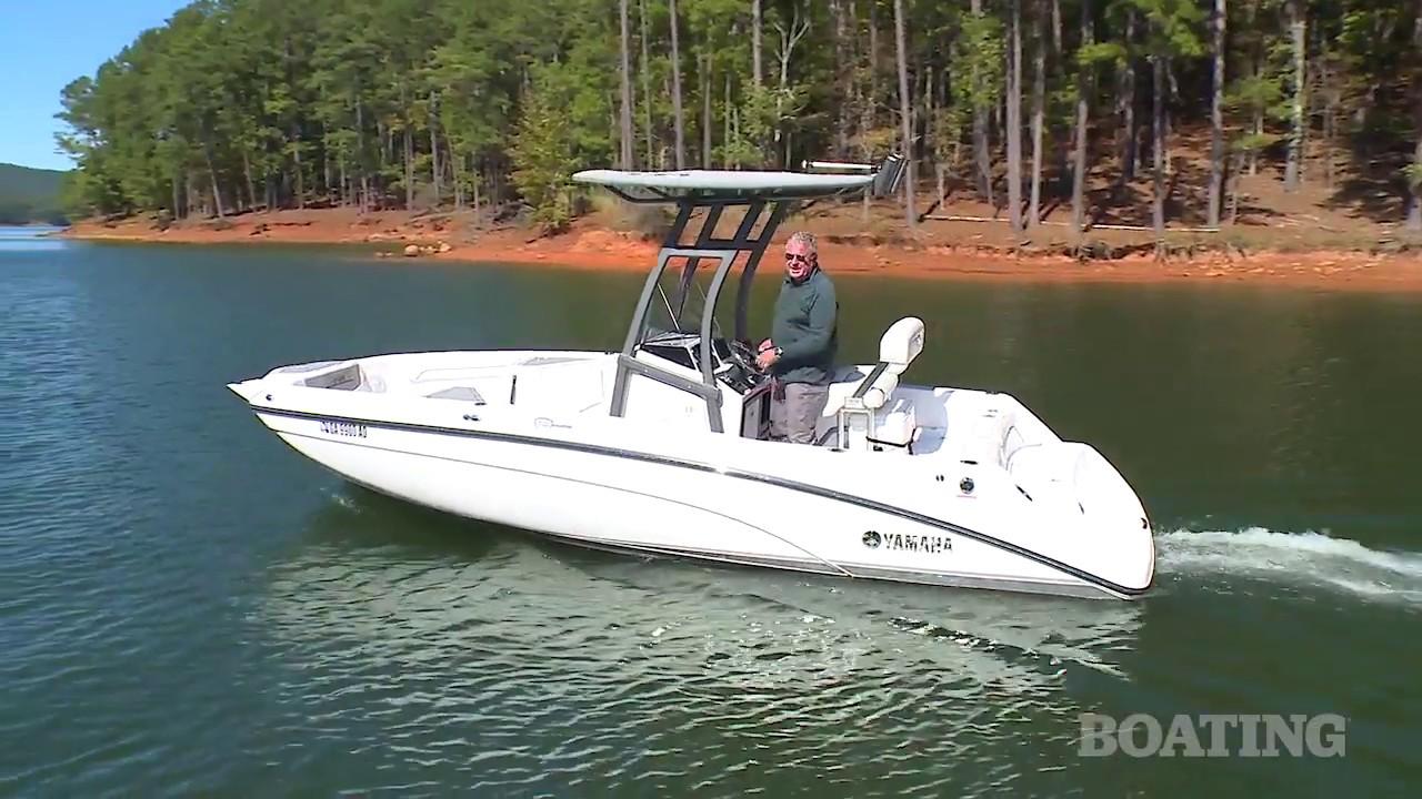 Boat buyers guide yamaha 210 fsh sport youtube for Yamaha fsh sport
