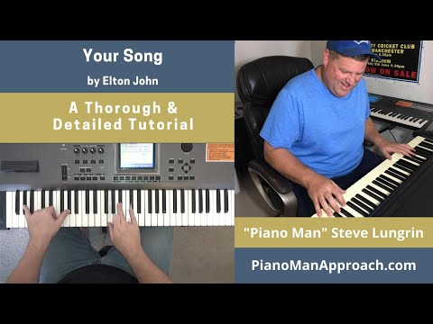 Your Song (Elton John), Free Tutorial!