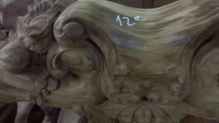 Ghế gụ ta Quảng Bình chọn vân, mã 12C, cột 12 x 6 thứ, 22-12-2016, Đồ Gỗ Đức Hiền