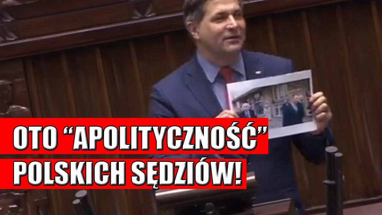 Piotr Kaleta pokazuje jak apolityczni są sędziowie Platformy Obywatelskiej