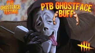 PTB GHOSTFACE BUFF! Dead By Daylight GHOSTFACE GAMEPLAY