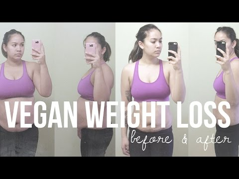 how-i-lost-38lbs-in-3-months,-before-&-after-weight-loss-transformation-|-seriously-rooted-vegan