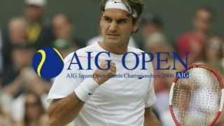 AIG JAPAN OPEN TENNIS CHAMPIONSHIPS 2006 ロジャー・フェデラー インタビュー
