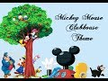 Mickey mouse clubhouse theme