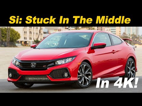 2018 Honda Civic Si Review and Road Test DETAILED in 4K UHD!