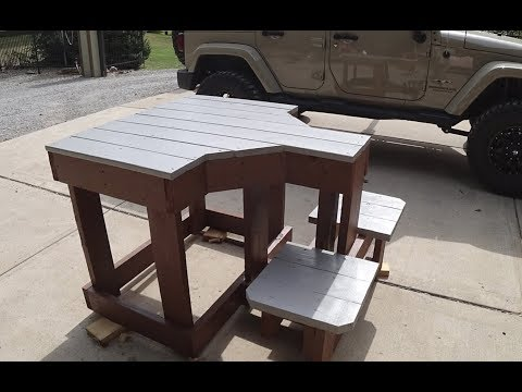#57 Awesome Shooting Bench Build Under $100 00