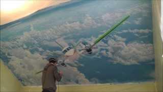 аэрография 2013 Роспись стен Aerography
