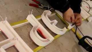 Производство объемных букв из пластика ПВХ