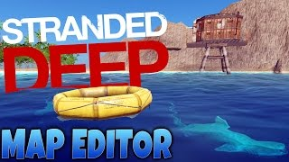 Stranded Deep Gameplay - Game Update - Map Editor & Crafting Update!