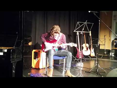 Theo A Level Music rehearsal