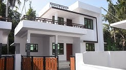 New small villa in Aluva, Ernakulam, near Airport, 1200 sq ft in 4 cents plot